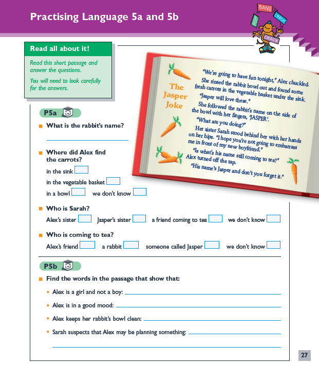 English revision practice tasks