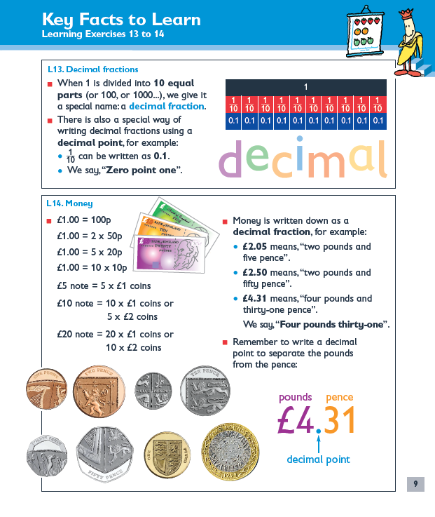 learning exercises for maths revision ks1